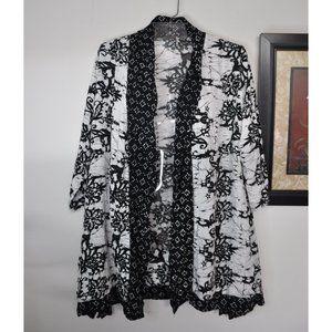 Soft Surroundings Cardigan Cover Up Size Medium